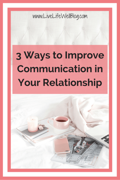 With every single couple that comes to see me for counseling, I discuss communication skills because, in almost every relationship, issues related to how we communicate (or don't) show up. If you ask me, it all boils down to 3 simple tips that I'm sharing with you to help you improve communication in your relationship.
