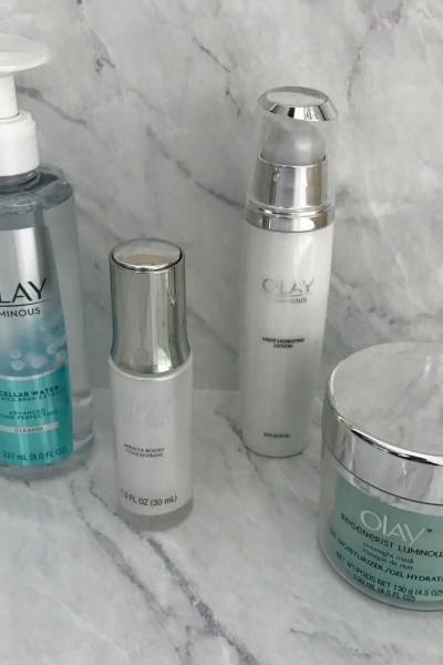 Achieving Fresh Face Goals with Olay Luminous