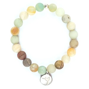 Wholesale Frosted Amazonite Bracelet