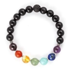 Chakra Stone Aromatherapy Mala Bracelet