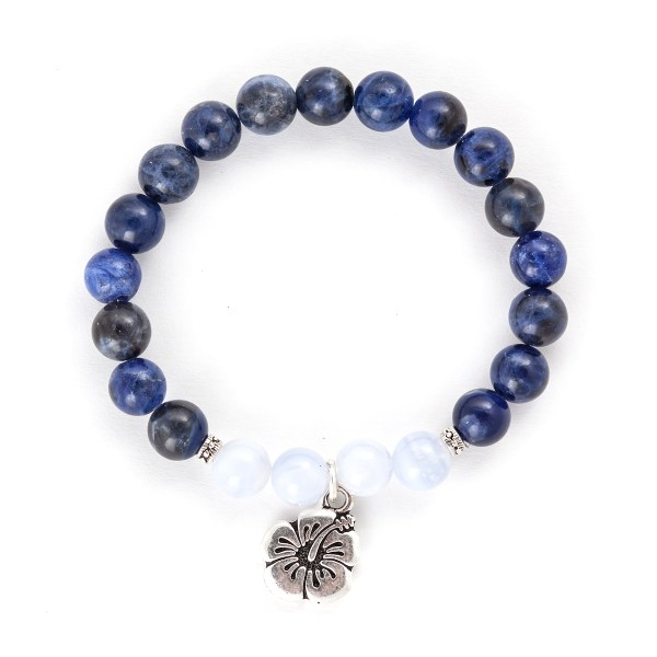 Sodalite & Blue Lace Agate Bracelet
