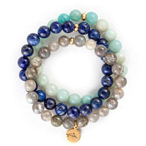 Blue Marlin Bracelet Stack