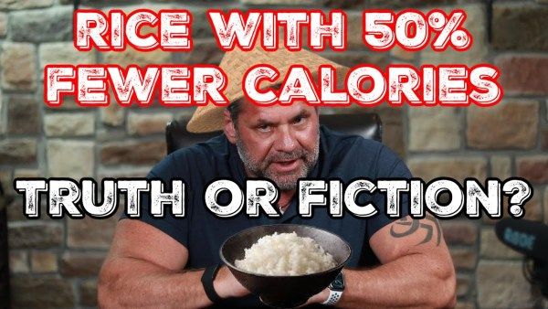 Rice With 50 percent Fewer Calories