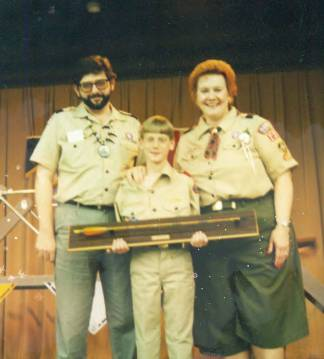 John - Boy Scout arrow