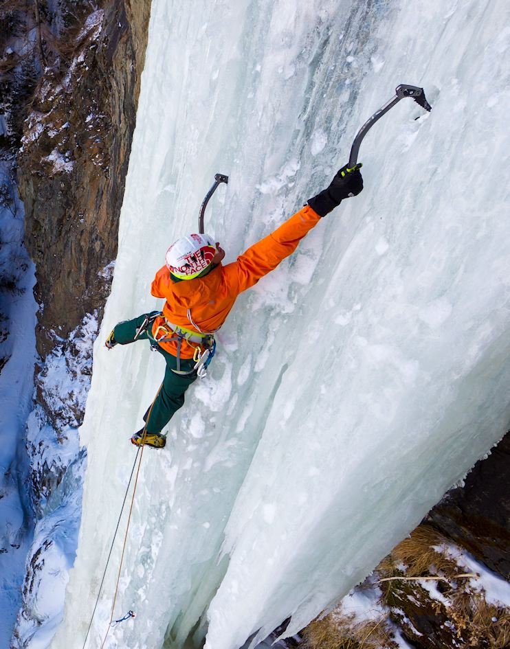 auer Ice Climbing in Oetztal