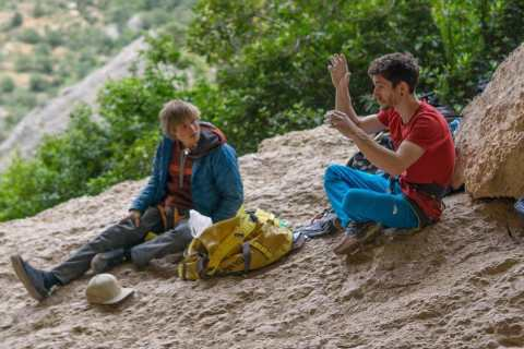 Ghisolfi's story about Alex Megos' FA of Perfecto Mundo 9b+
