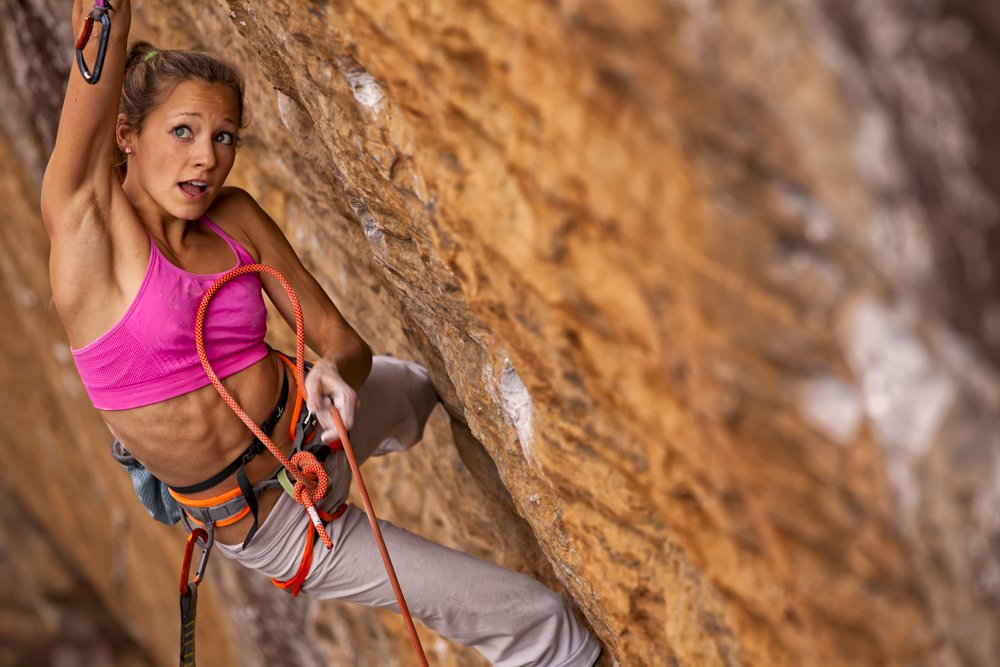 "Sasha DiGiulian su ""Golden Boy"" 5.13b"