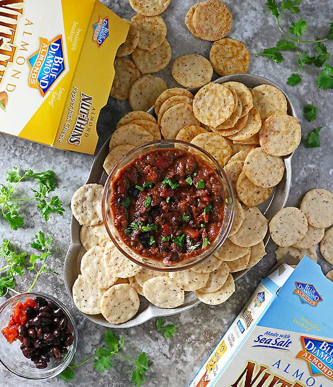 Black-Bean-Dip-And-NutThins