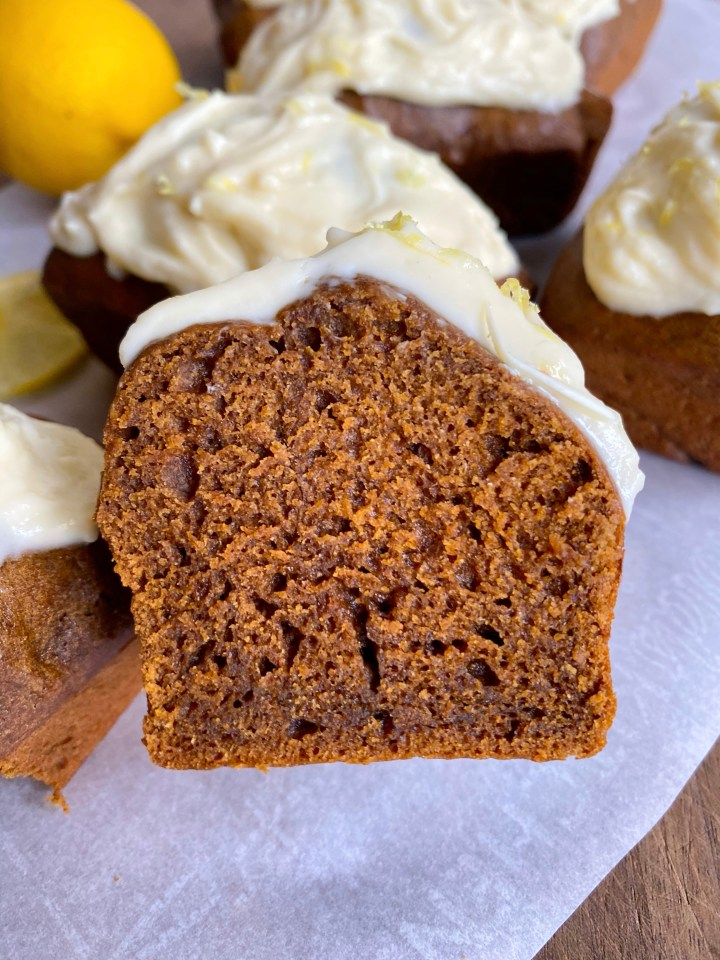 GF Lemon Gingerbread Loaves