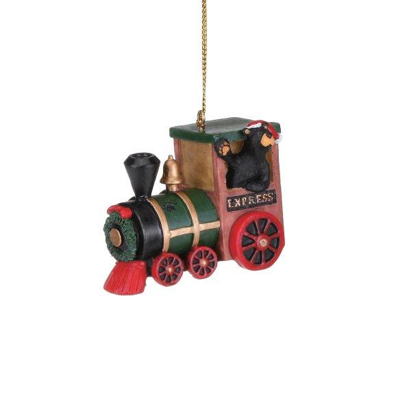 Bearfoot Express Train Ornament
