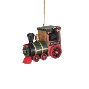 Bearfoot Express Train Ornament