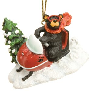Snowmobiler Ornament