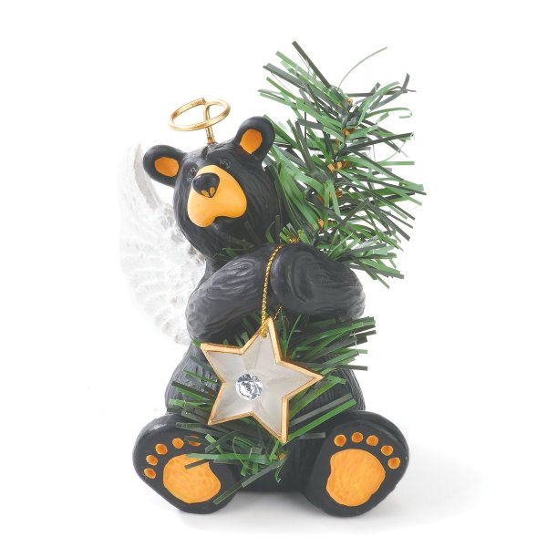 bear tree topper