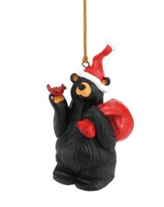 Bear elf with cardinal