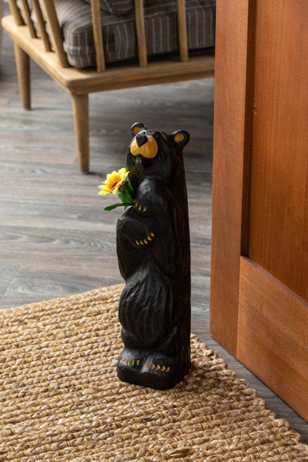 Sunny bear staged