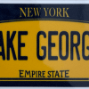 LG license plate decal