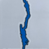 Lake George cellphone decal