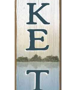 LAKE TIME - PORCH BOARD