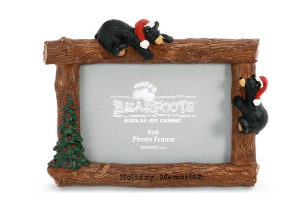Christmas bear frame