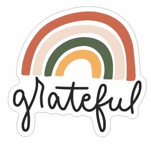 Grateful decal