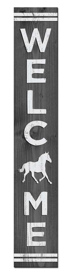 HORSE - PORCH BOARD