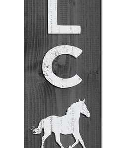 HORSE - PORCH BOARD