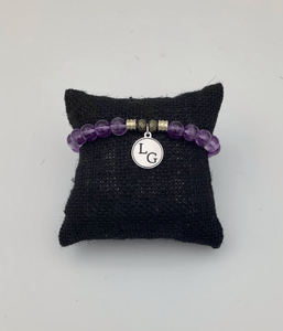 Amethyst Lake George bracelet back