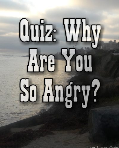Quiz Why Are You So Angry