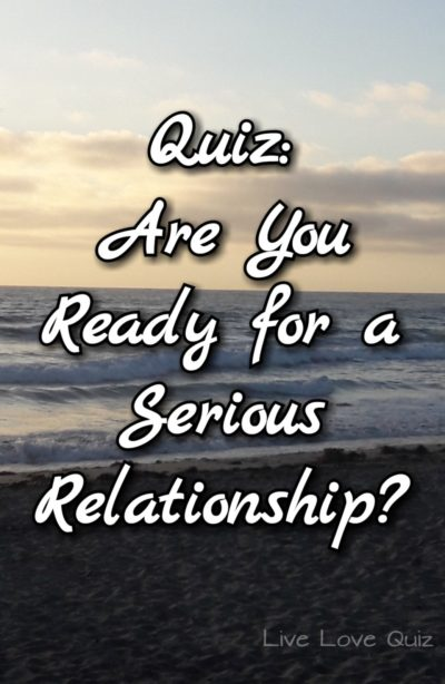 Are you ready for a relationship quiz