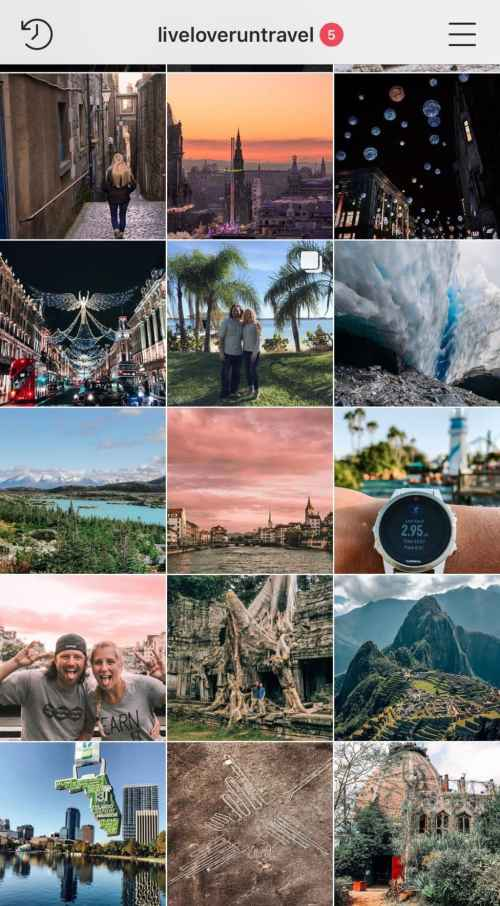My feed before taking an Instagram class. Find out if Instagram classes are worth the money and how to find the right one.
