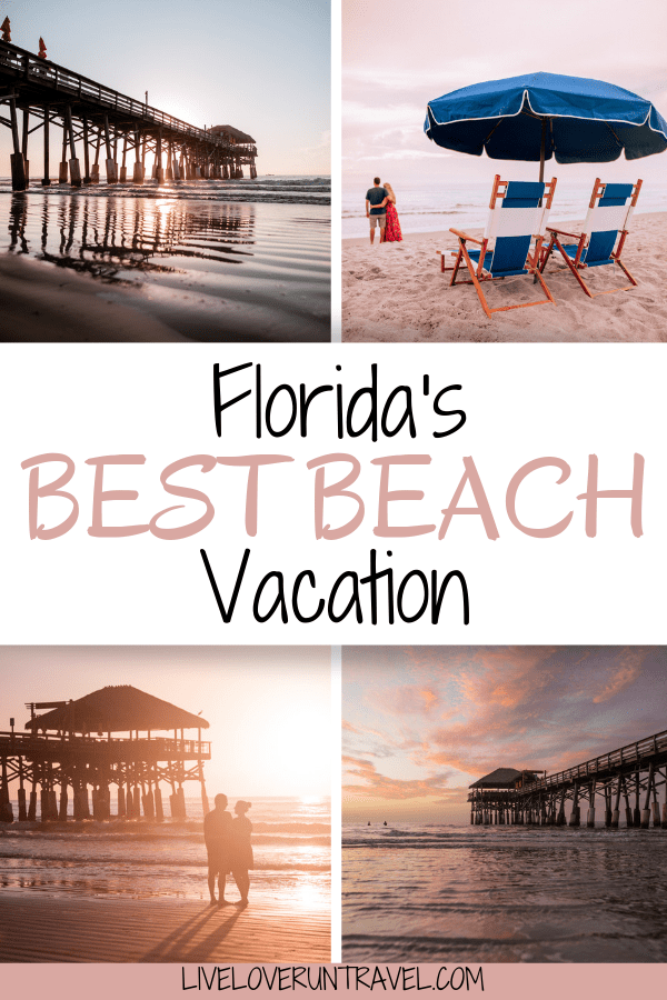 Florida's Cocoa Beach is the ultimate beach getaway. #florida resorts in Florida | Florida beach vacation | Florida vacation beach | best beaches in Florida | Florida family vacation | beach Florida | Cocoa Beach Florida | best Florida beaches | beautiful beach in Florida | Florida beach vacation ideas | vacation Florida | vacation in Florida | Florida beach | romantic Florida vacation | places to travel in Florida | travel to Florida