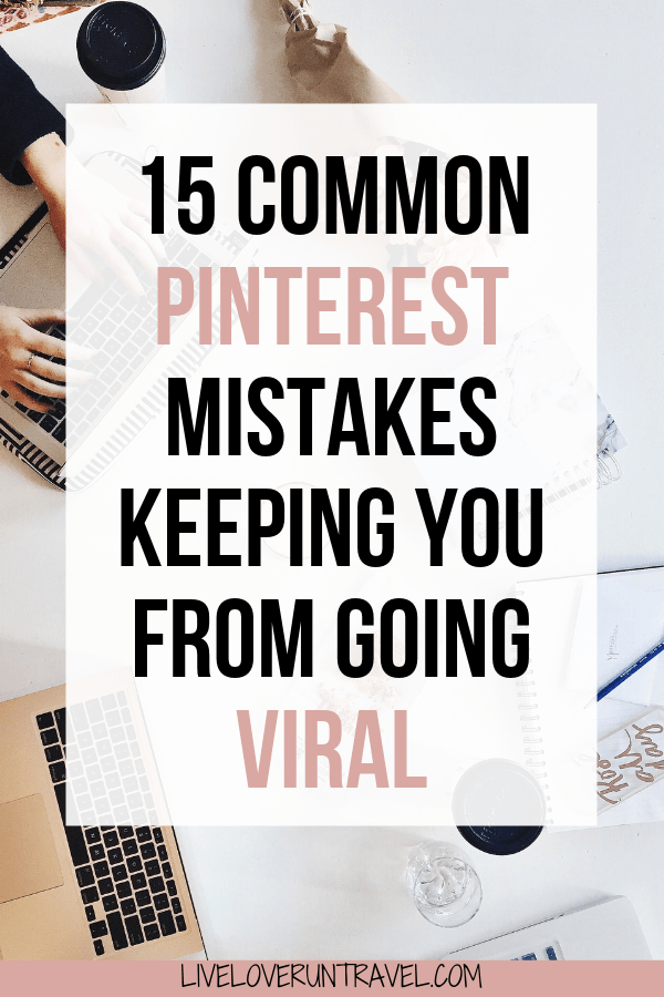 Pinterest Mistakes That Are Holding You Back And How To FIX THEM! 8 Pinterest Mistakes You Could Be Making   Pinterest Tips   Pinterest Strategies   Blogging Tips   Start A Blog   Pinterest Profile   Pinterest Success   Grow on Pinterest   Go Viral On Pinterest