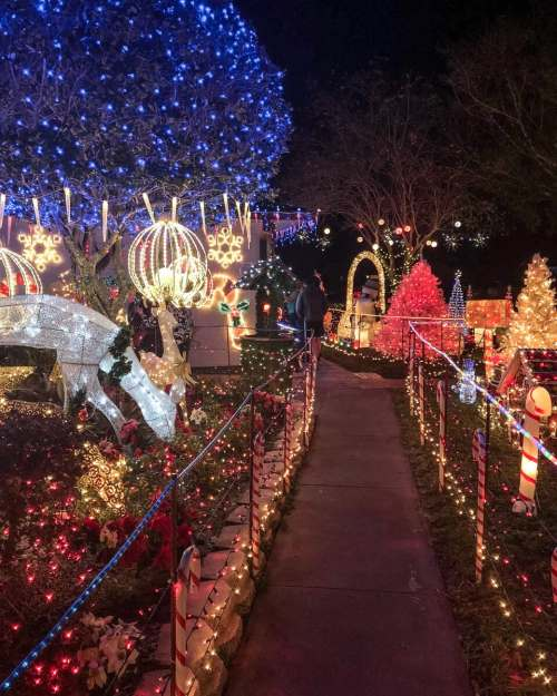 The Garden Grove Christmas lights are some of the best in Central Florida. For more tips about what to see and do at Christmas in Orlando, check out this guide by a local.