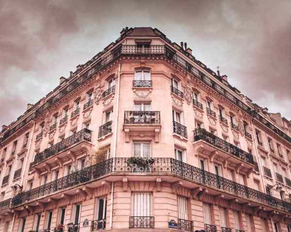 One of many beautiful buildings in Paris in winter. Click here for everything you need to know about New Year's in Paris.