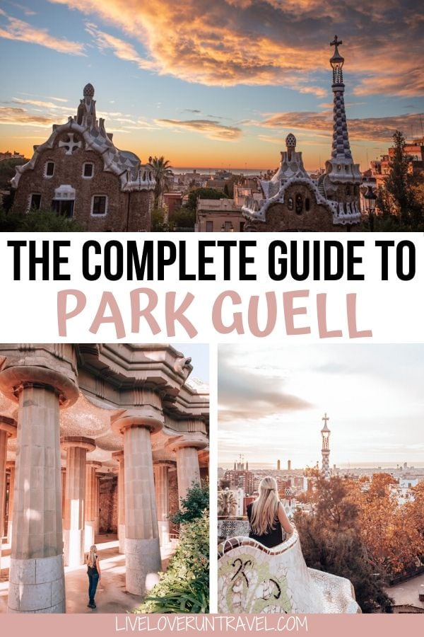 Find out how to get into Park Guell Barcelona free + what to see in Park Guell. #barcelona #parkguell #gaudi #spain #barcelonaspain | things to do in Barcelona Spain | Park Guell photography | Park Guell photo ideas | Park Guell Gaudi | Park Guell Instagram | Park Guell Barcelona Instagram | Park Guell Barcelona photos | Park Guell winter | Barcelona Spain must see | Barcelona Spain travel | Park Guell tips | Barcelona Spain photography | Barcelona Spain Gaudi | Barcelona Spain Instagram