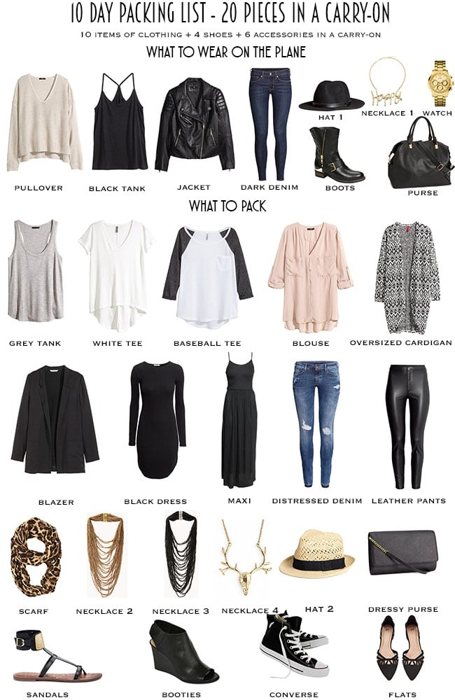 0336c733652c 10 Day Packing List From Day to Night - livelovesara