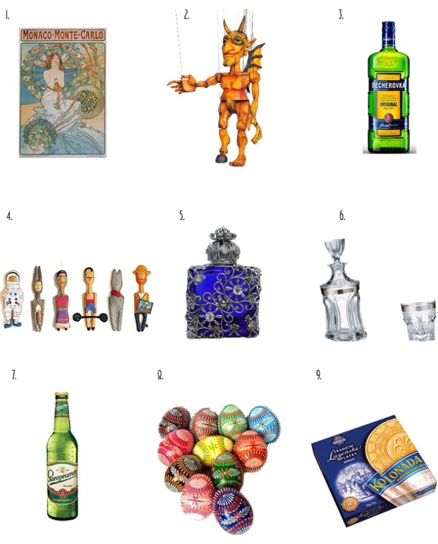 Prague Souvenir Ideas