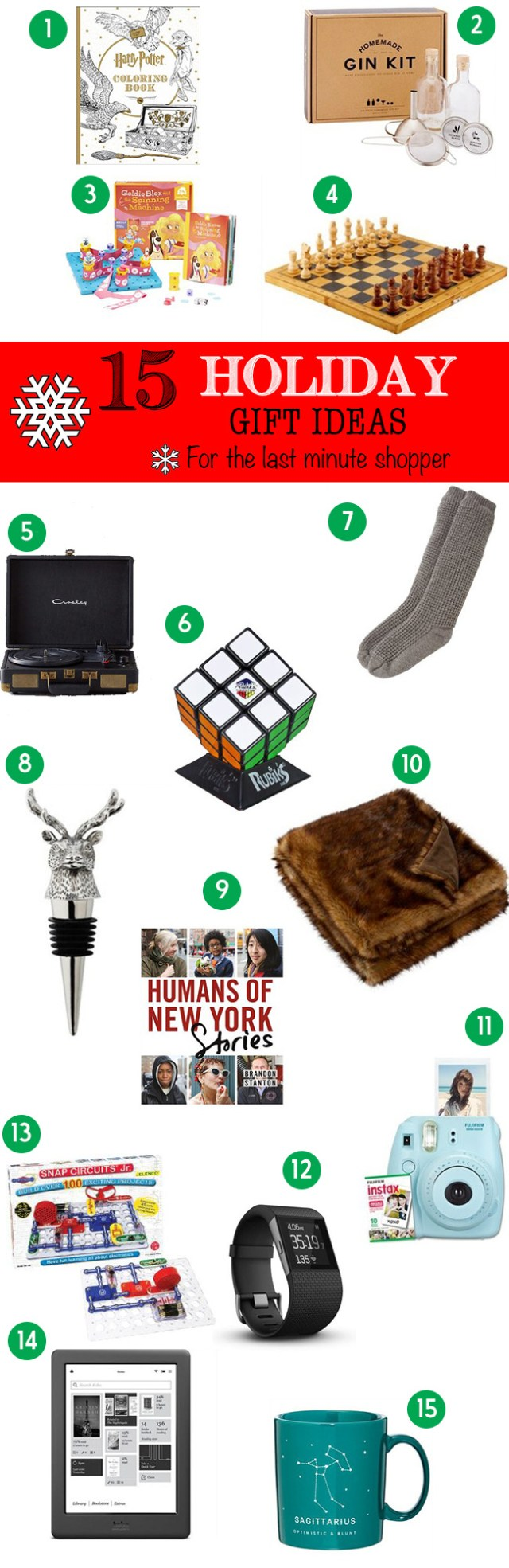 15 Last Minute Gift Ideas for Christmas