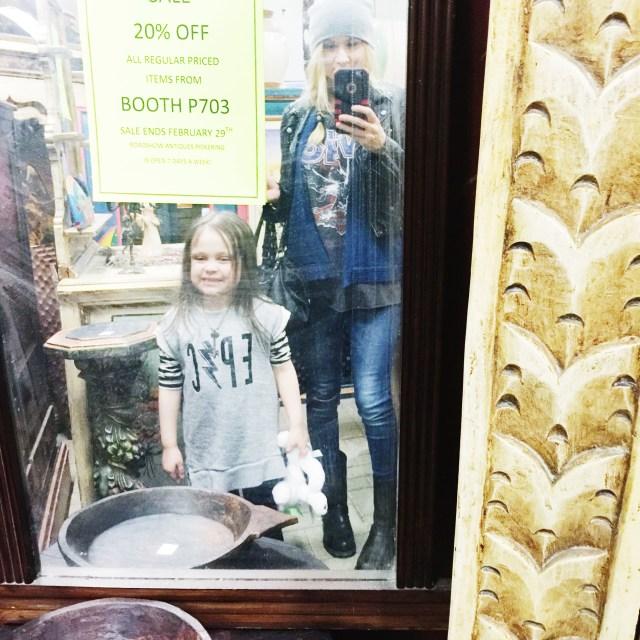 Flea Market Selfie