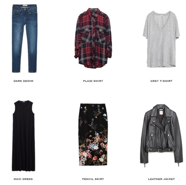 new spring items for capsule wardrobe