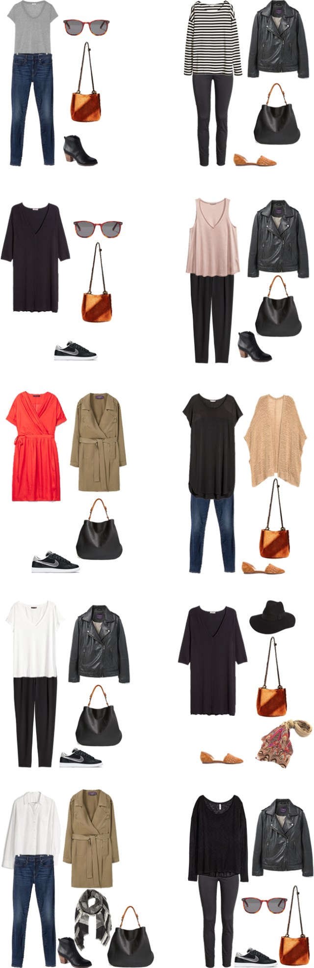 What to Wear in Italy Outfit Options 21-30 #travellight #travel #packinglight #traveltips