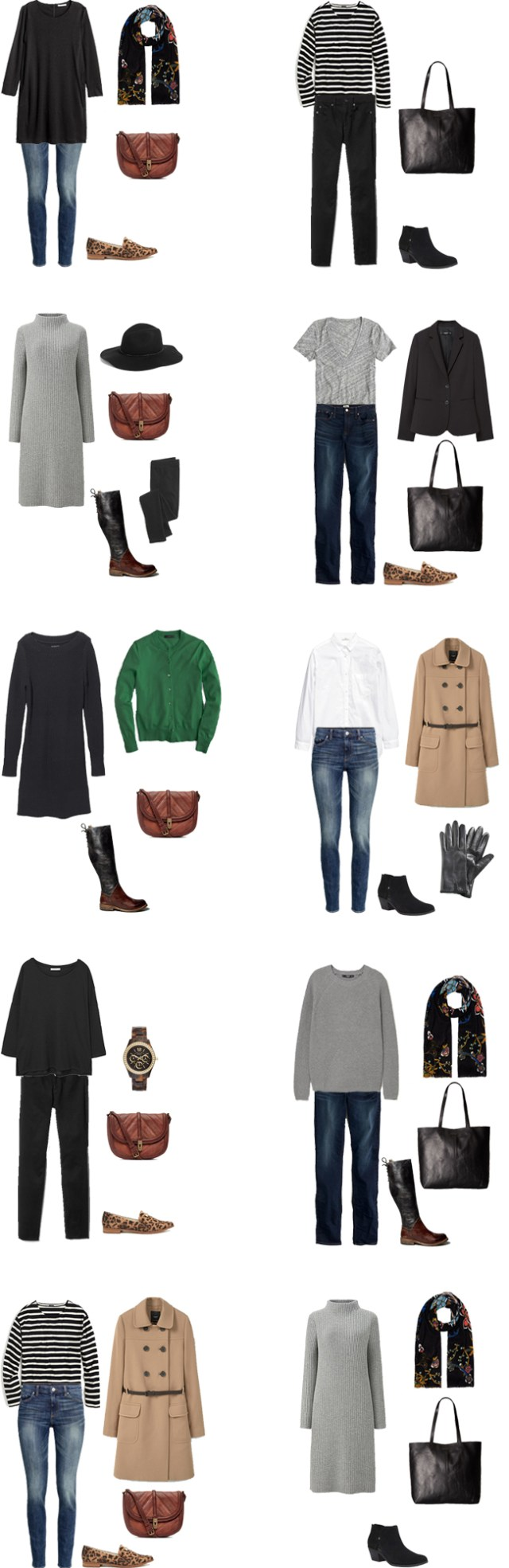 What to Wear in Germany and Austria Outfit Options 11-20 #travellight #packinglight #travel #traveltips