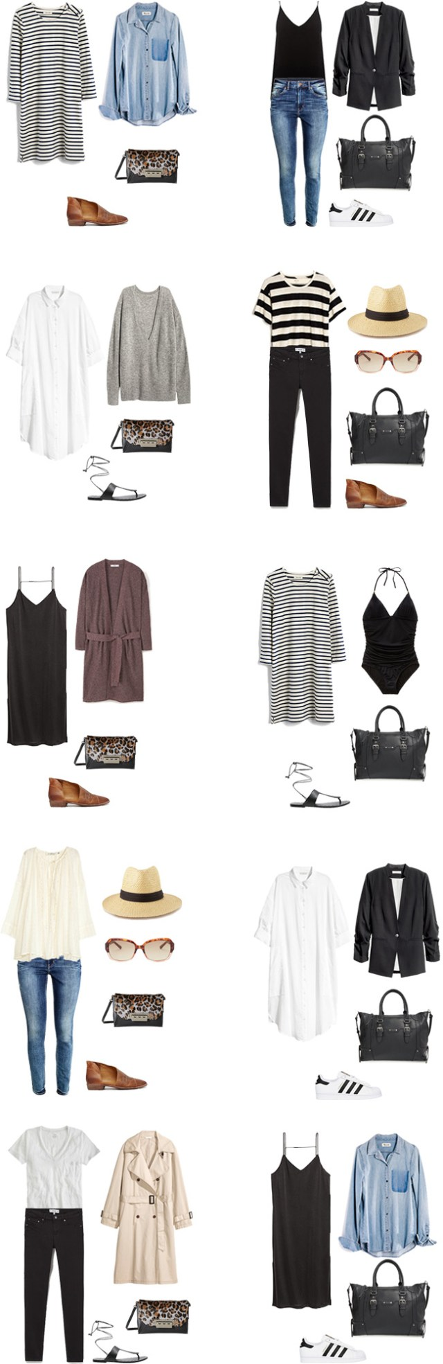What to Wear in Italy and on a Mediterranean Cruise Outfit Options 11-20 #travellight #packinglight #traveltips #travel