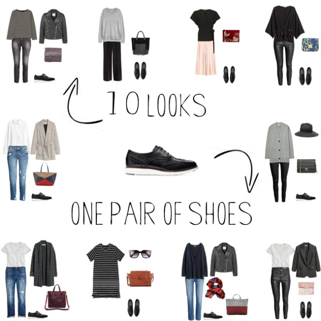 How to Style Oxford Shoes 10 Looks One Pair of Shoes via #livelovesara