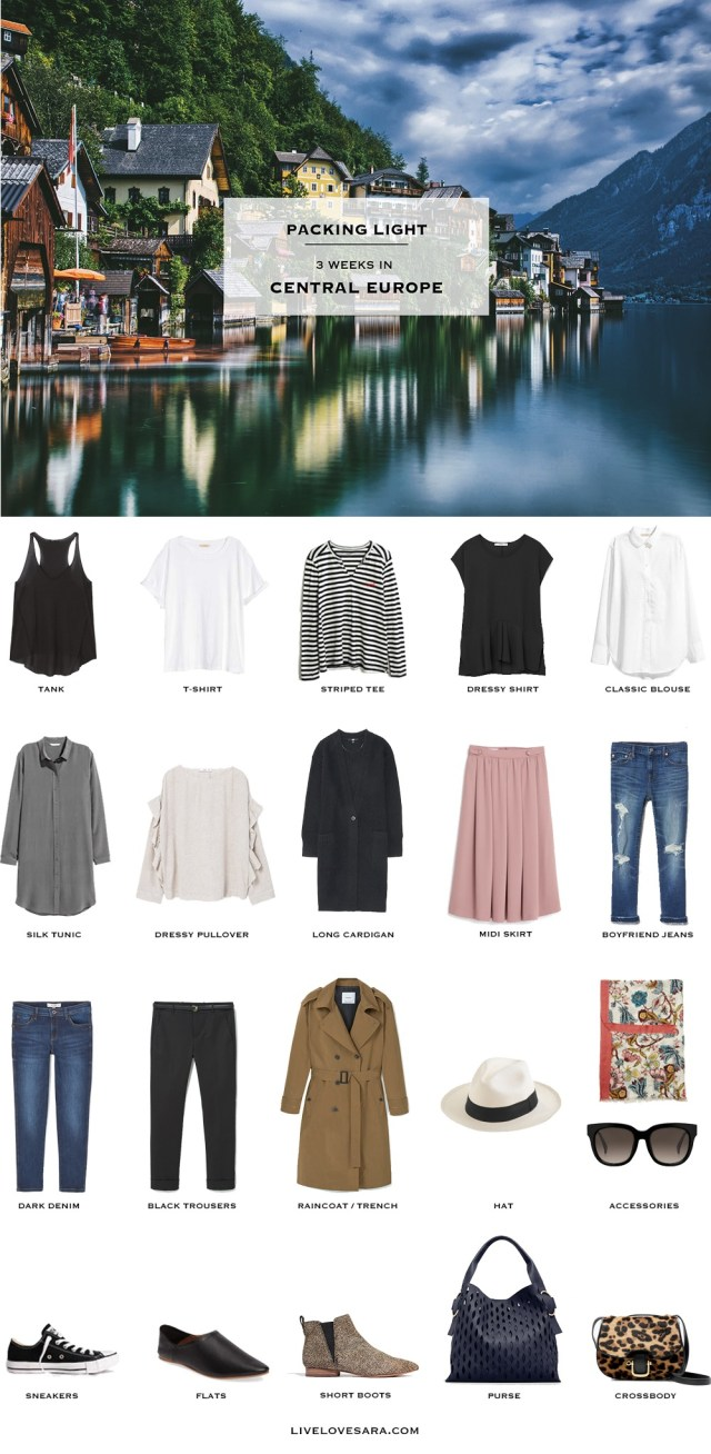 What To Pack For Central Europe Packing Light Livelovesara
