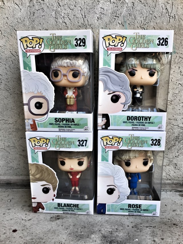 The Golden Girls Funko Pops