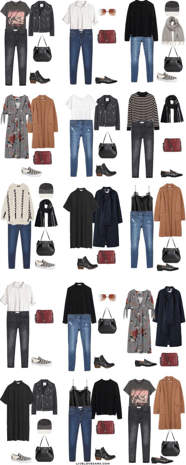 What to Pack for Edinburgh, Scotland Packing Light List Outfit Options 16-30
