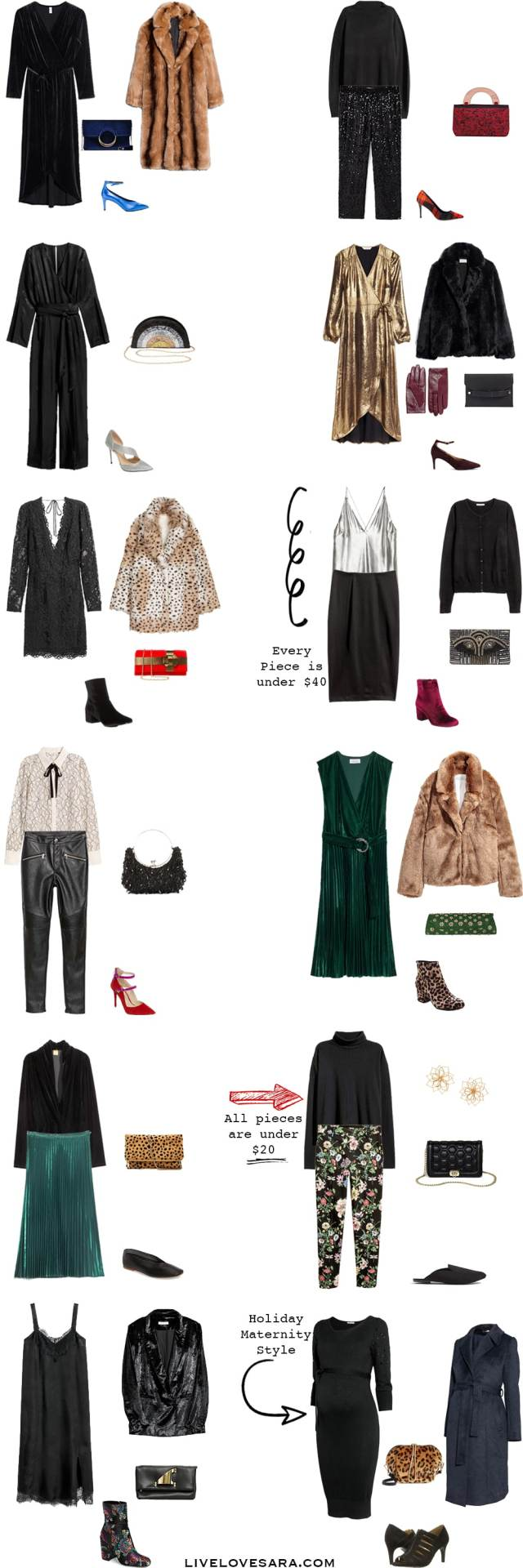 Holiday Style 2017 #holidaystyle #party #whattowear #livelovesara