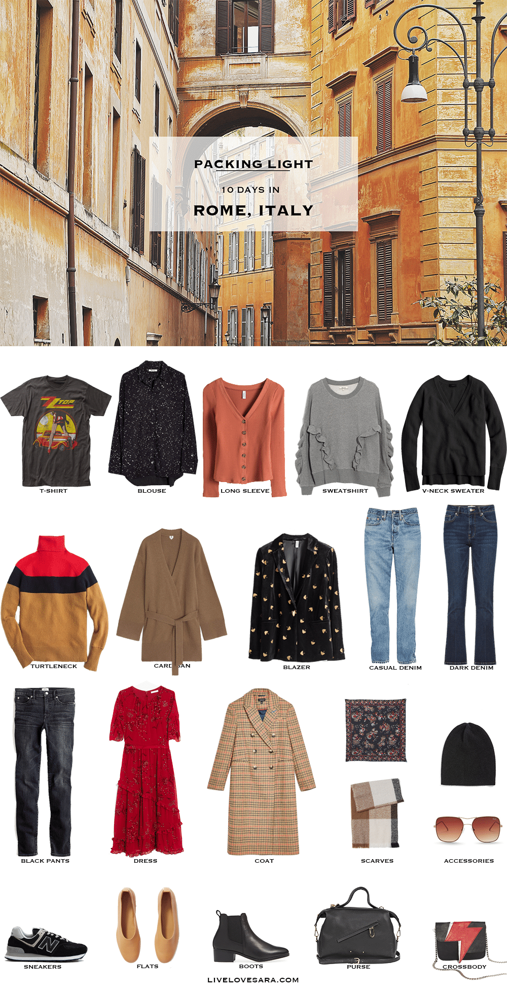 9d89409db715 What to Pack for Rome in Winter - livelovesara