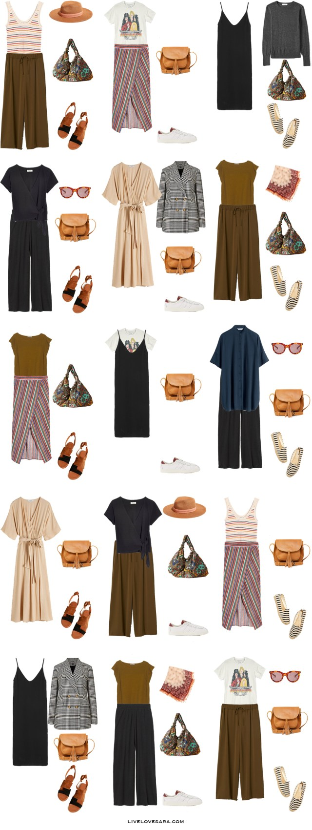 South of France Packing list and outfit ideas